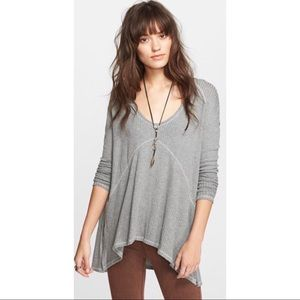 Free People Sunset Park Thermal Top Size S